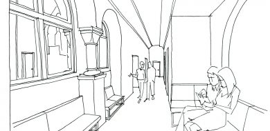 Beuronská kaple Gymnázia Teplice 08
