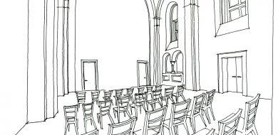 Beuronská kaple Gymnázia Teplice 09
