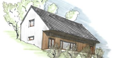 Rodinný dům Žitenice, architekt Jan Hanzlík