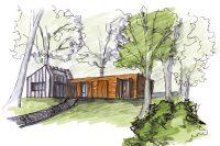 Rodinný dům pod lesem II Ing. arch. Jan Hanzlík, architektonická kancelář