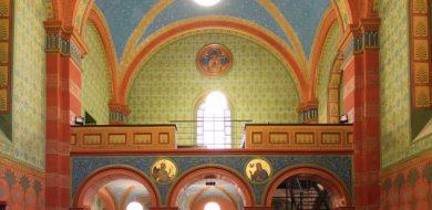 Adaptace Beuronské kaple Gymnázia Teplice | Ing. arch. Jan Hanzlík, architektonická kancelář