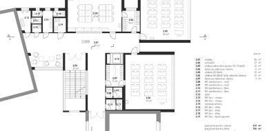 Přístavba nového pavilonu Střední školy AGC | Ing. arch. Jan Hanzlík architektonická kancelář