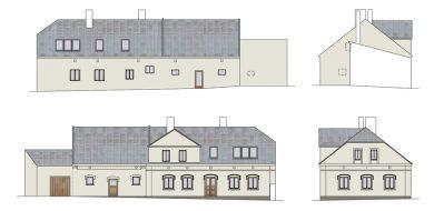 Rekonstrukce usedlosti v Lomu | Ing. arch. Jan Hanzlík, architektonická kancelář