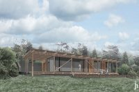 Rekreační objekt na Lišce | Ing. arch. Jan Hanzlík architektonická kancelář