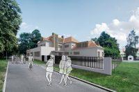 Salesiánské středisko v Teplicích-Trnovanech (adaptace bývalých jeslí) | Ing. arch. Jan Hanzlík, architektonická kancelář